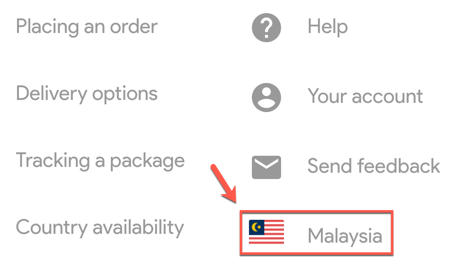 You can change the country in Google Store.